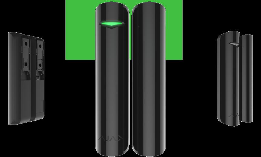 AJAX DoorProtect Plus uksemagnetkontakt + vibratsiooniandur